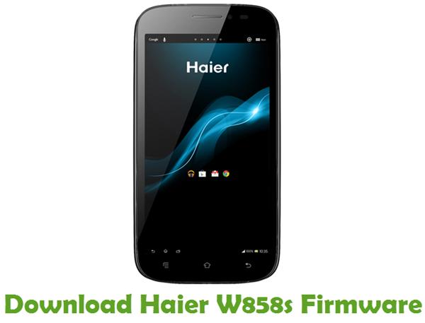 Download Haier W858s Firmware