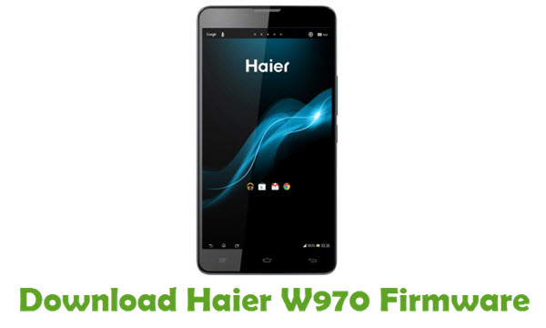 Download Haier W970 Firmware