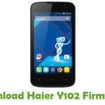 Haier Y102 Firmware