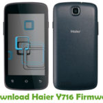 Haier Y716 Firmware