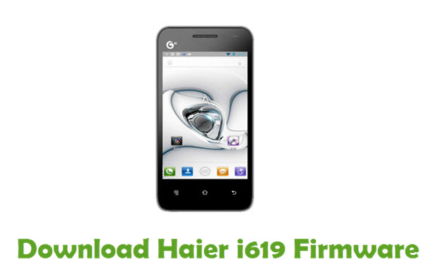 Download Haier i619 Firmware