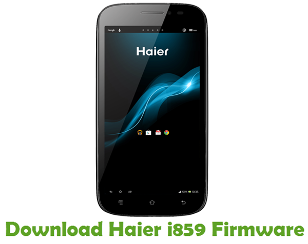 Download Haier i859 Firmware