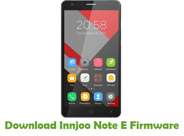 Download Innjoo Note E Firmware