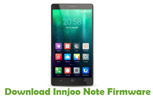 Download Innjoo Note Firmware