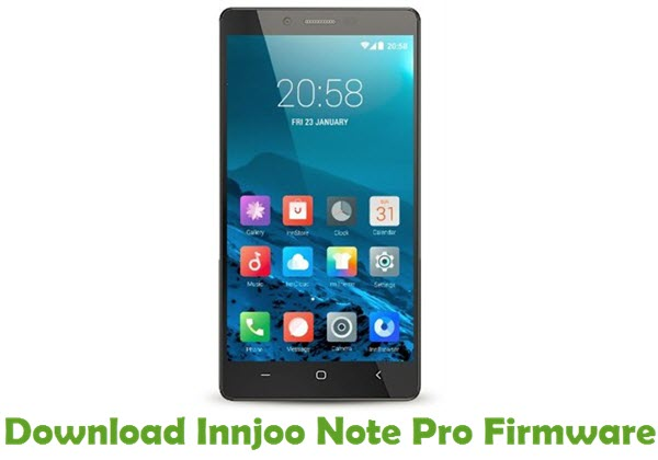 Download Innjoo Note Pro Firmware