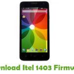 Itel 1403 Firmware