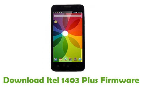 Download Itel 1403 Plus Firmware