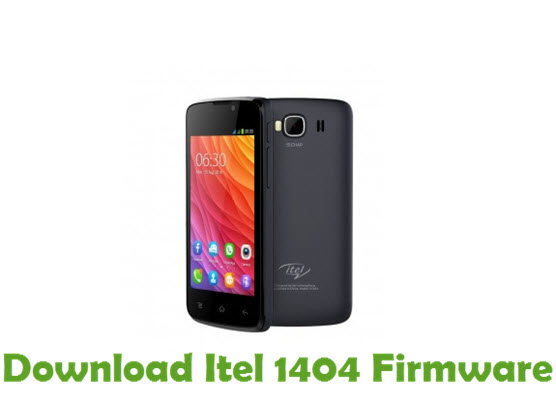 Download Itel 1404 Firmware
