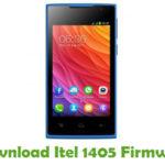 Itel 1405 Firmware