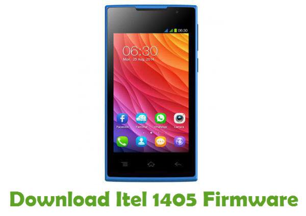 Download Itel 1405 Firmware