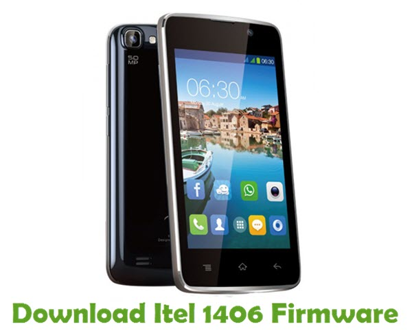 Download Itel 1406 Firmware