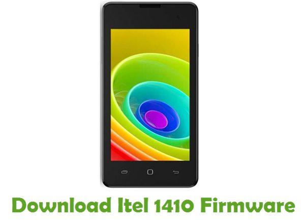 Download Itel 1410 Firmware