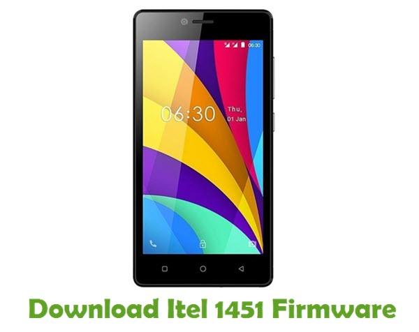 Download Itel 1451 Firmware