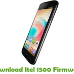 Itel 1500 Firmware