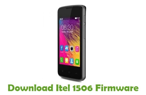 Download Itel 1506 Firmware