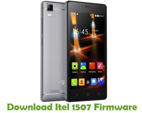 Download Itel 1507 Stock ROM