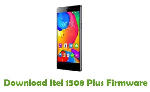 Download Itel 1508 Plus Firmware