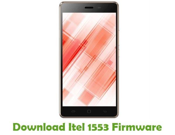 Download Itel 1553 Firmware