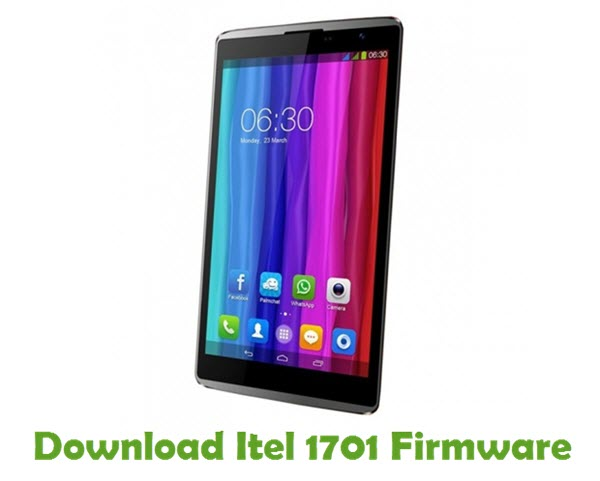 Download Itel 1701 Firmware