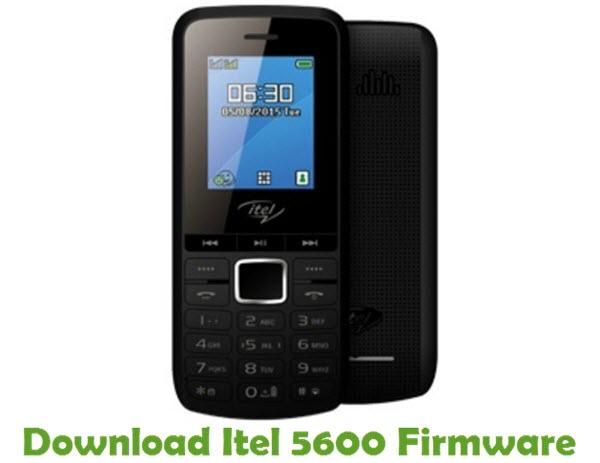Download Itel 5600 Stock ROM