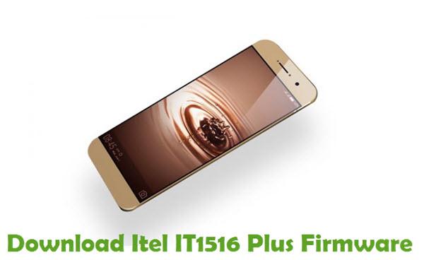 Download Itel IT1516 Plus Stock ROM
