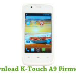 K-Touch A9 Firmware