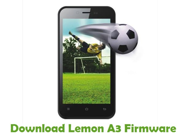 Download Lemon A3 Firmware