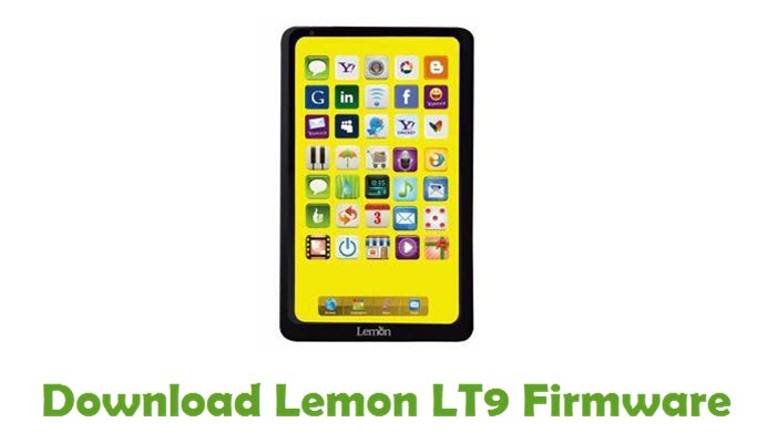Download Lemon LT9 Firmware