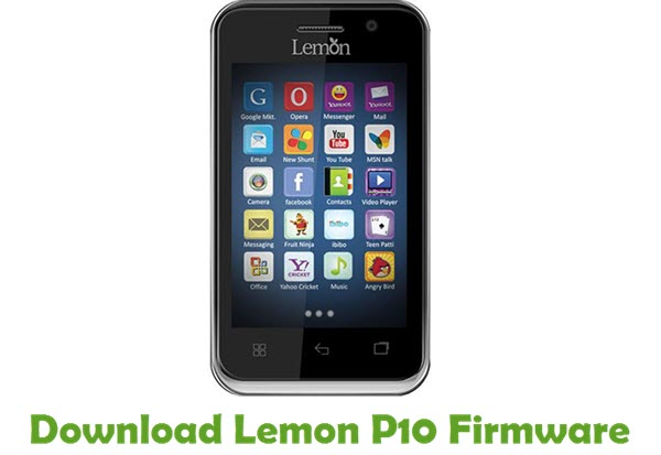 Download Lemon P10 Firmware