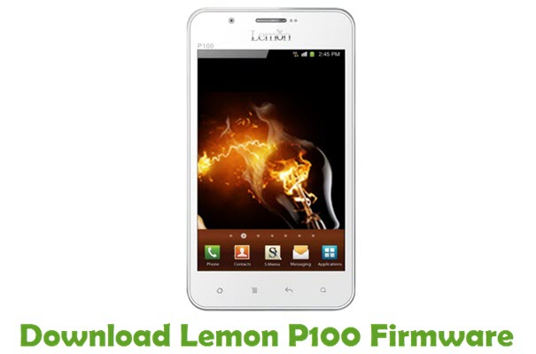 Download Lemon P100 Firmware