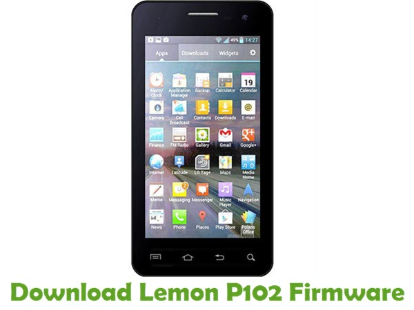 Download Lemon P102 Firmware
