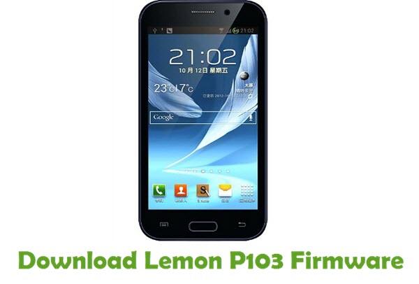 Download Lemon P103 Firmware