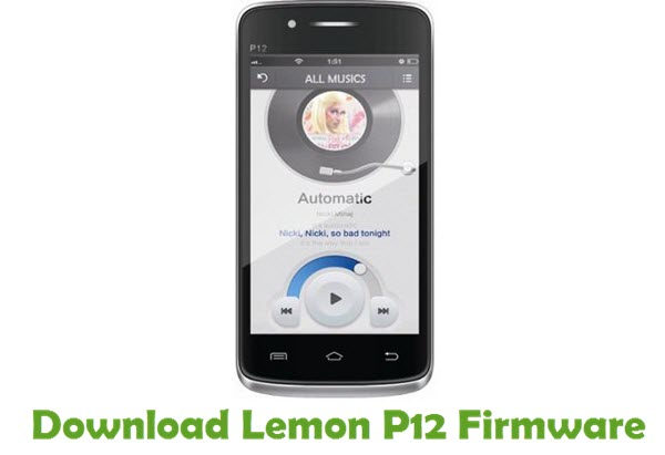 Download Lemon P12 Firmware