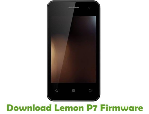Download Lemon P7 Firmware