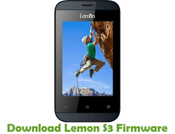 Download Lemon S3 Firmware