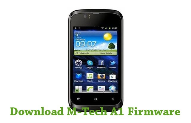Download M-Tech A1 Stock ROM