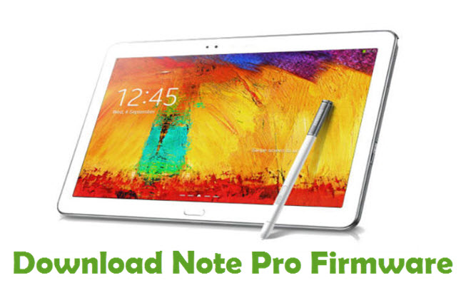 Download Note Pro Firmware