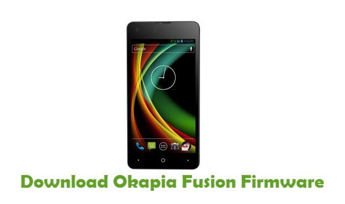 Download Okapia Fusion Firmware