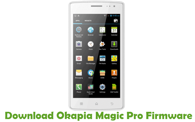 Download Okapia Magic Pro Firmware