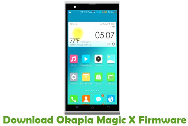 Download Okapia Magic X Firmware