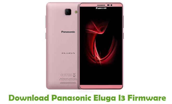 Download Panasonic Eluga I3 Firmware