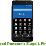 Panasonic Eluga L Firmware