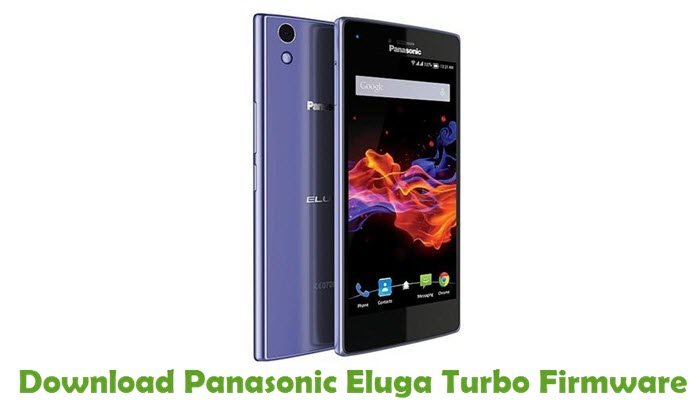 Download Panasonic Eluga Turbo Firmware