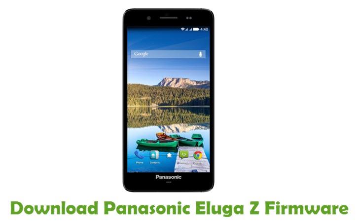 Download Panasonic Eluga Z Firmware