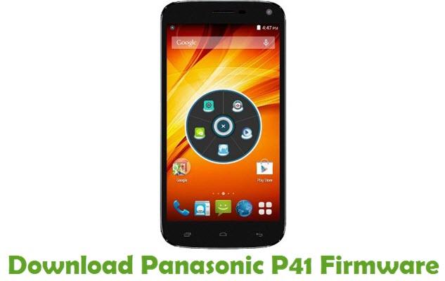 Download Panasonic P41 Firmware