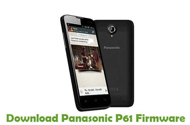 Download Panasonic P61 Firmware
