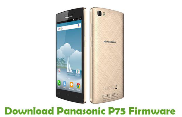 Download Panasonic P75 Firmware