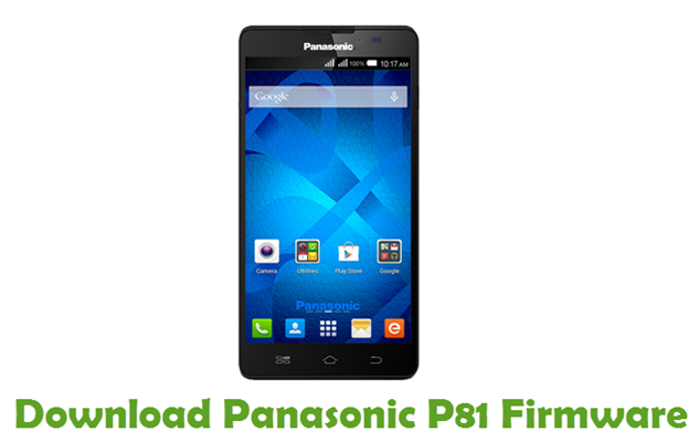 Download Panasonic P81 Firmware