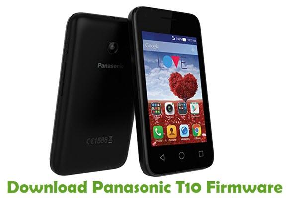 Download Panasonic T10 Firmware