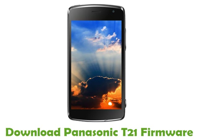 Download Panasonic T21 Firmware